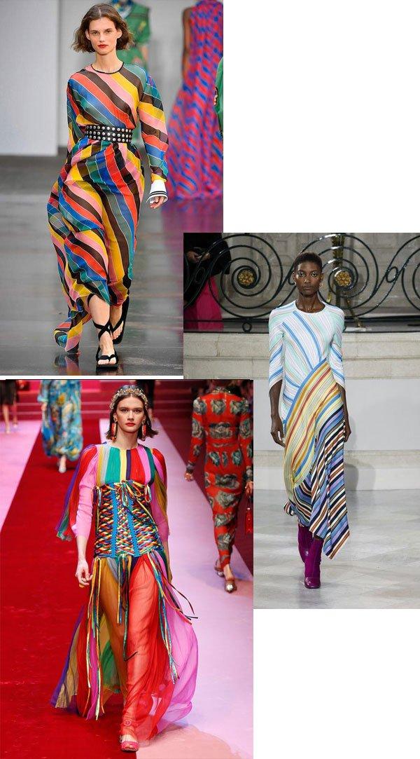 desfile - rainbow stripes - rainbow stripes - verão - street style