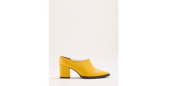 Julia Abud - mule-salto-amarela - mule - verão - street style