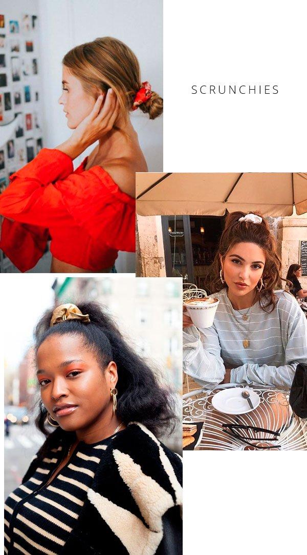 it-girl - scrunchies-cabelo-produtos-beleza - scrunchie - verão - street style