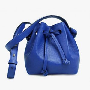 Mini Bucket Ivone Blue - Mônica Salgado Tamanho: U - Cor: Azul