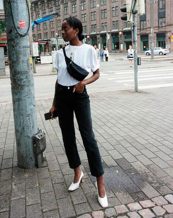 it-girl - t-shirt-branca-calca-jeans-sapato-branco - t-shirt - verão - street style