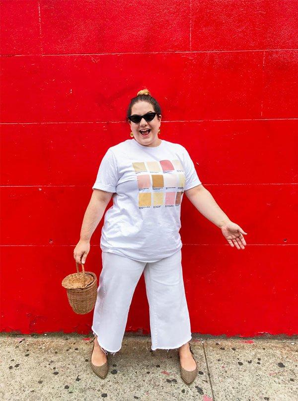 it-girl - calça-culotte-t-shirt - culotte - meia estação - street style