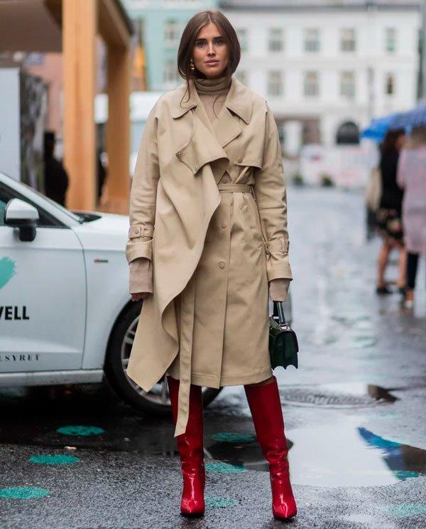it-girl - trench-coat-maxi-bota-vermelha - trench-coat - trench-coat-maxi-bota-vermelha - street style