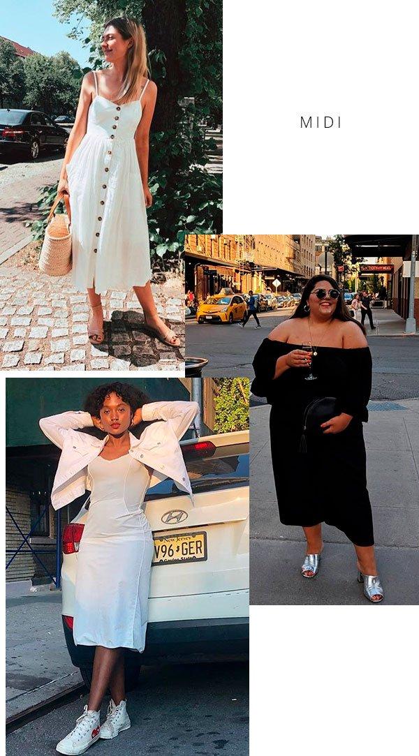 vestido - midi - look - moda - copiar