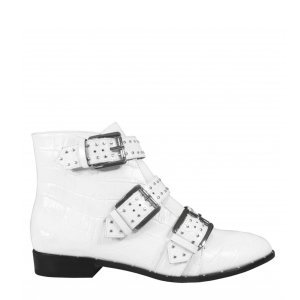 Niki Boot White Tamanho: 41 - Cor: Branco