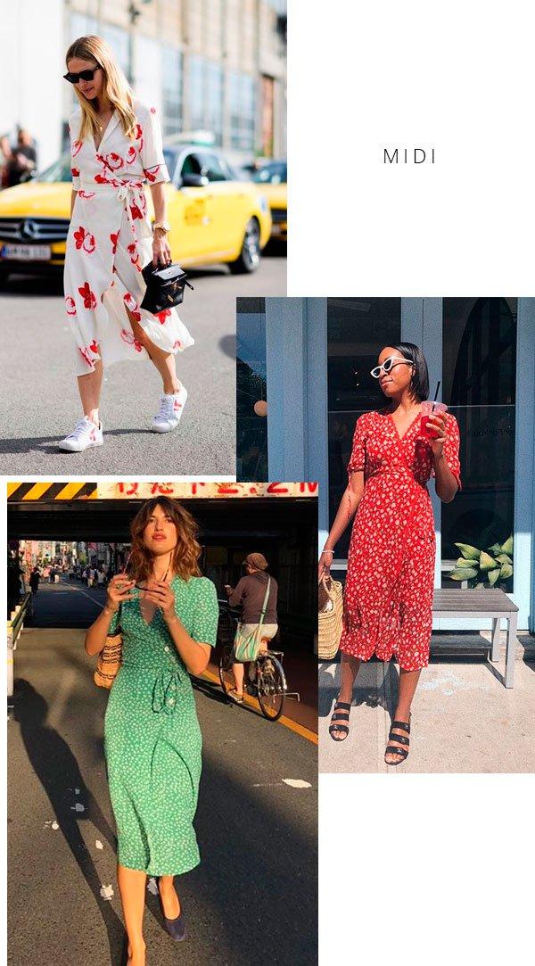 it-girl - wrap-dress-midi-street-style - wrap dress - verão - street style