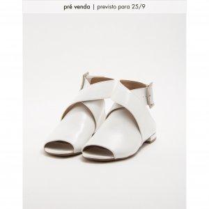Flat Pack Branco Tamanho: 39 - Cor: Branco
