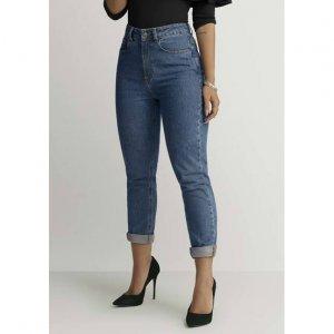 Calça Jeans Na Modelagem Mom Pants Por Jade Seba