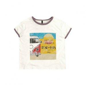 T-Shirt Estampada Em Malha De Algodão