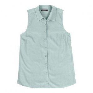 Camisa Regata Básica Feminina Em Tecido De Viscose