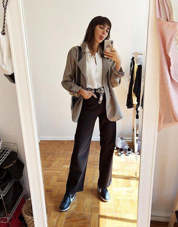 Angelica Bucci - blazer-calca-blusa - blazer - verão - street style