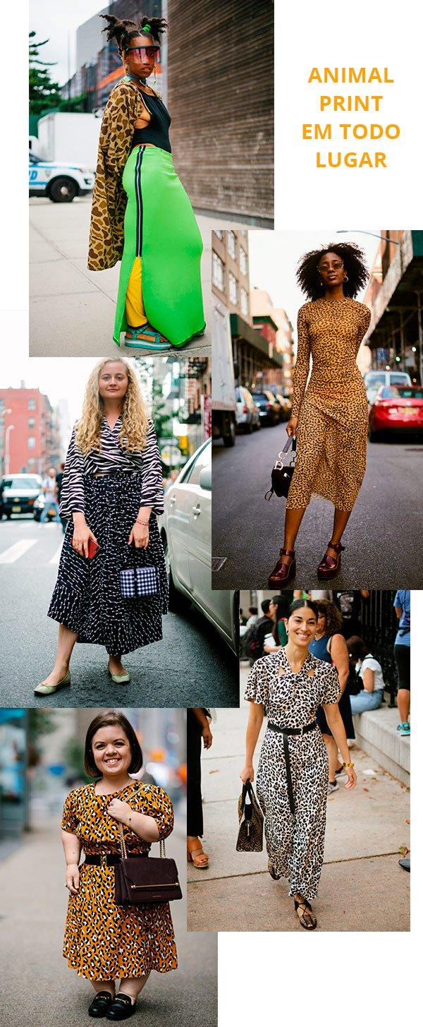 animal print - look - moda - trend - street style