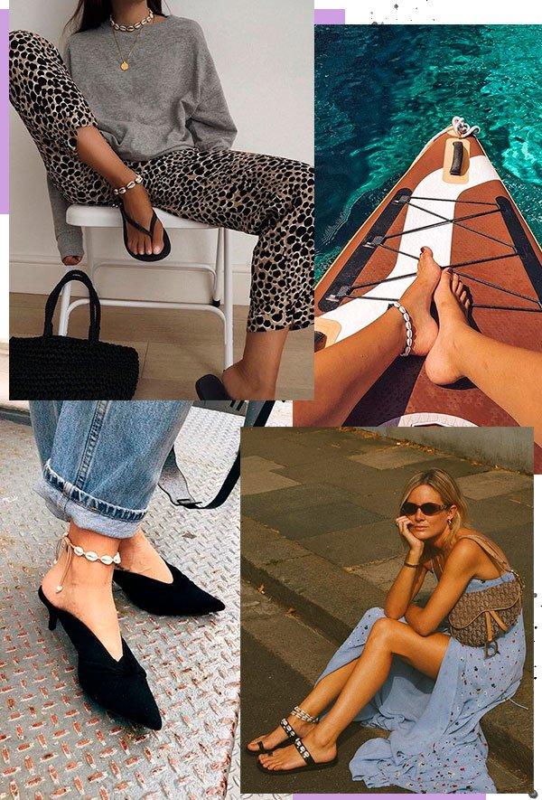 tornozeleira - buzios - moda - acessorios - looks