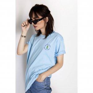 Camiseta Vegan Vibes Corn Tamanho: P - Cor: Azul