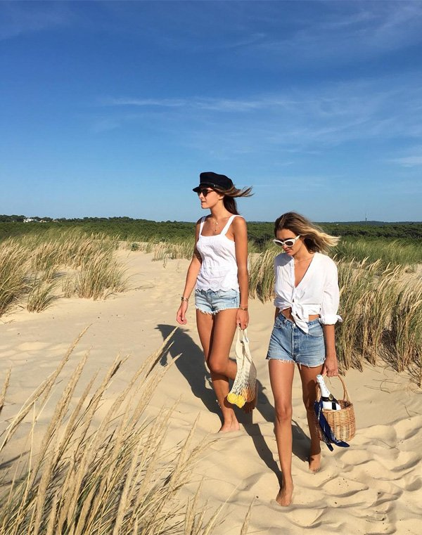 AnneLaure Mais Moreau - camisa-branca-no-short-jeans - camisa - verão - street style