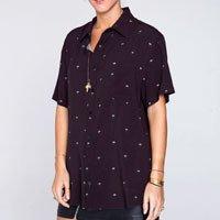 Camisa Daisy Tamanho: Gg - Cor: Preto