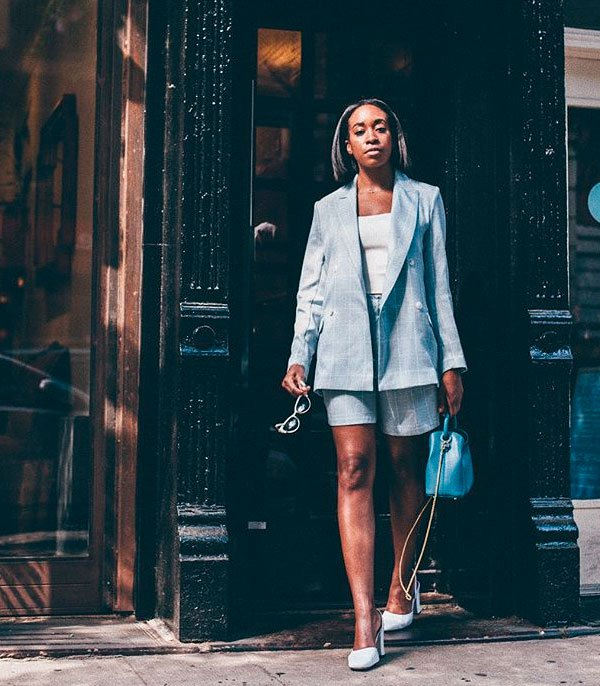 Chrissy Rutherford - blazer-street-style - blazer - meia estação - street style