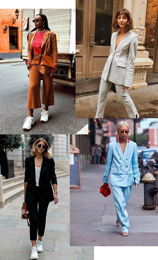 blazer - conjunto - calca - street - style