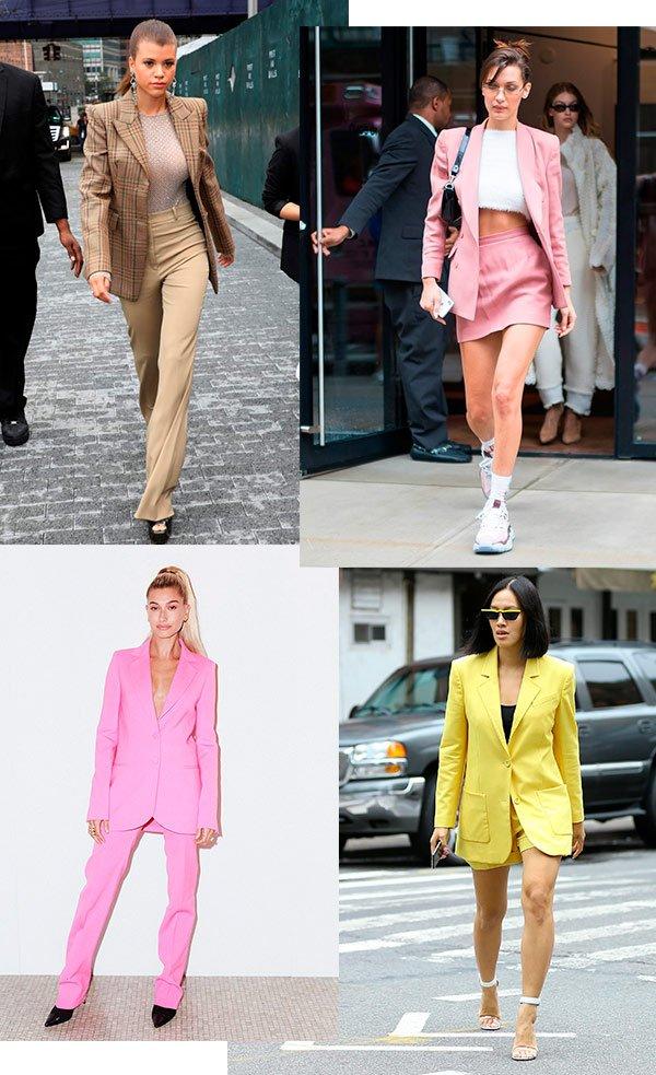 conjunto - blazer - look - street style - looks
