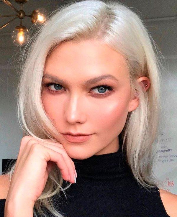 Karlie Kloss - maquiagem-beleza-pele - make glow - verão - estúdio