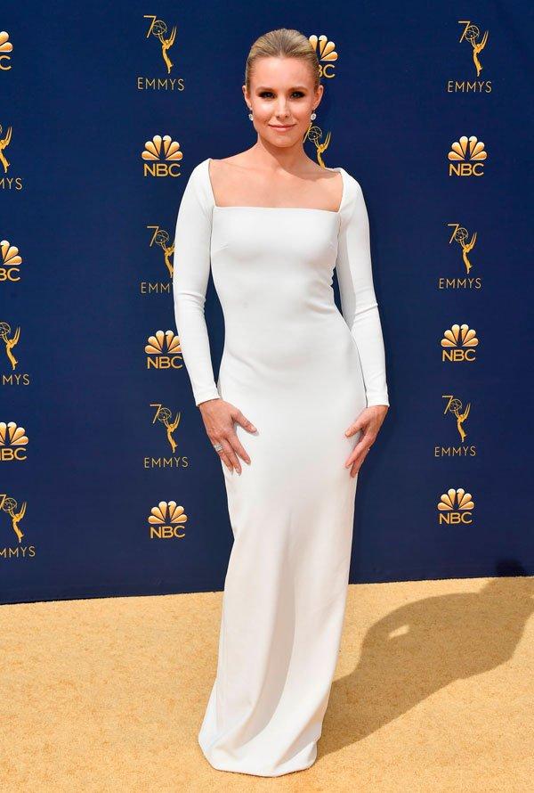 Kristen Bell  - kristen-bell-emmy-awards - vestido - verão - Emmy Awards