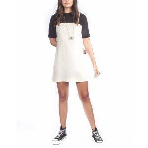 Vestido Linho Gelo Tamanho:p - Cor: Off White