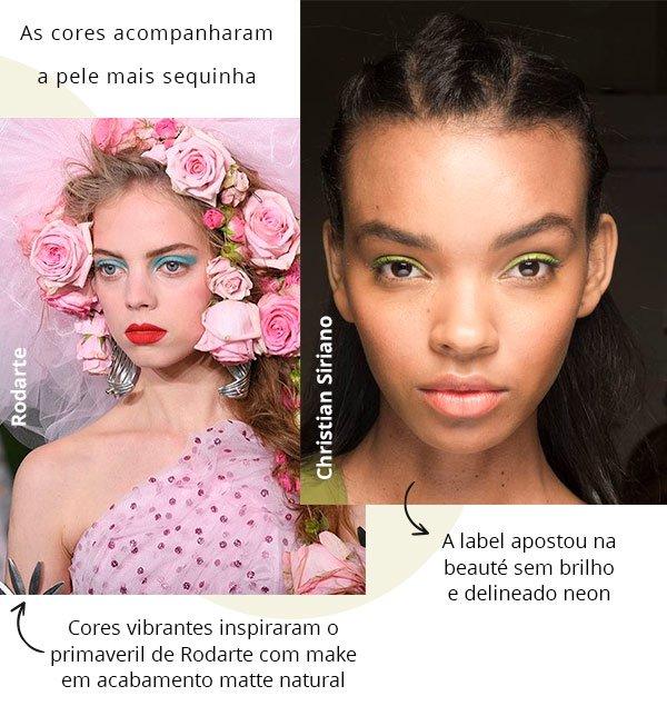 nyfw - make up - modelos - passarela - 2018