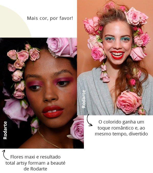 nyfw - beleza - make up - passarela - modelos