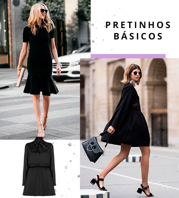 vestido - preto - looks - publi - amaro