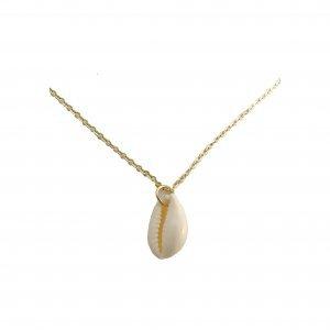Coquillage Necklace Tamanho: U - Cor: Dourado
