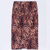 animal skirt print