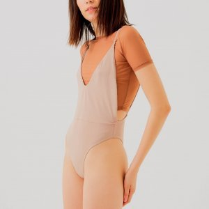 Maiô Ellie Nude Tamanho: 42 - Cor: Nude