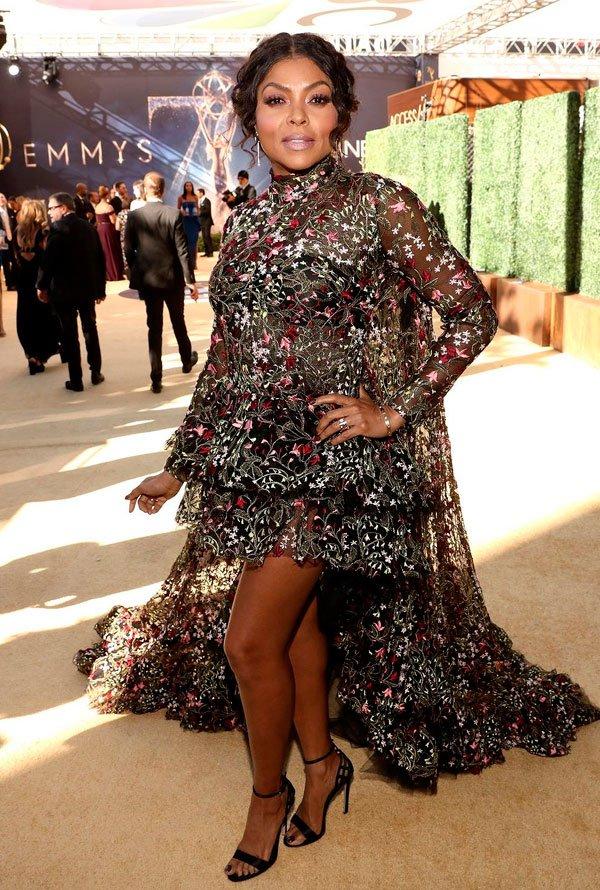 Taraji P. Henson - /taraji-heson-emmy-awards - vestido - verão - Emmy Awards