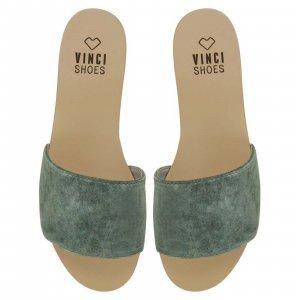 Flat Venice Aqua Tamanho: 38 - Cor: Verde