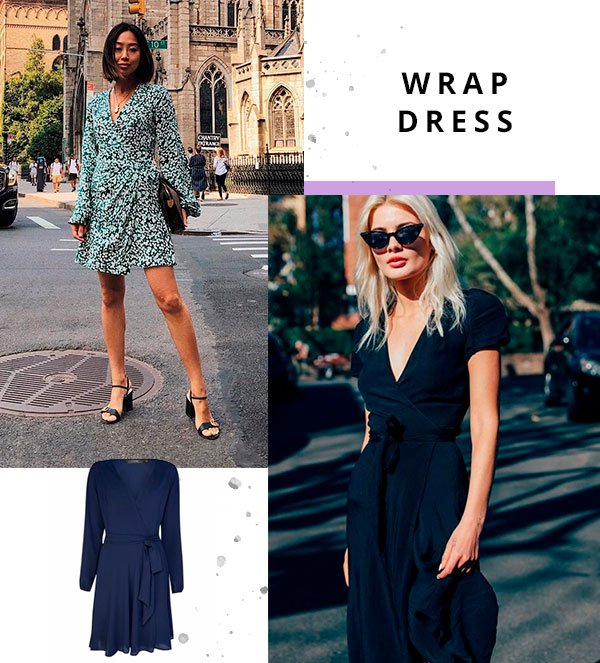 wrap dress - publi - amaro - look - oda