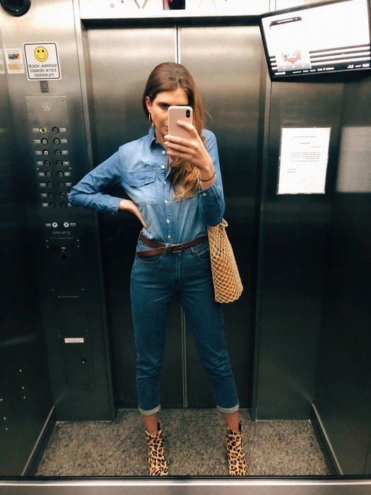 Manuela Bordasch - camisa-jeans-calca-jeans - jeans - verão - street style