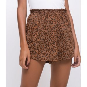 Short Clochardt Animal Print