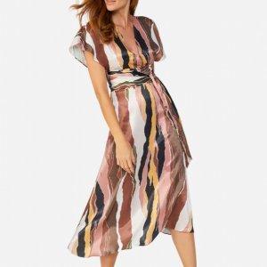 Midi Print Dress