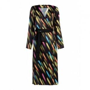 Long Sleeve Printed Kimono