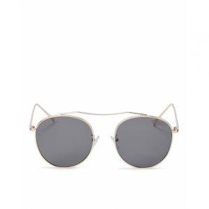Óculos De Sol Redondo Metal