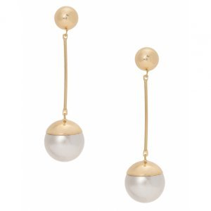 Brinco Metal Pearl