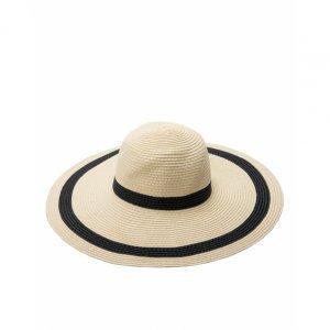 Wide Stripe Hat