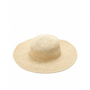 Texture Wide Hat