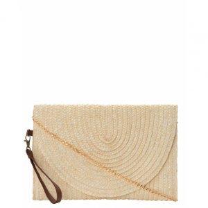 Straw Clutch Bag