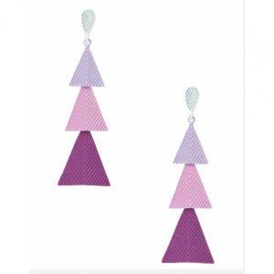 Brinco Longo Triângulos