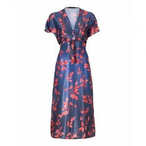 Cut Out Dress With Binding