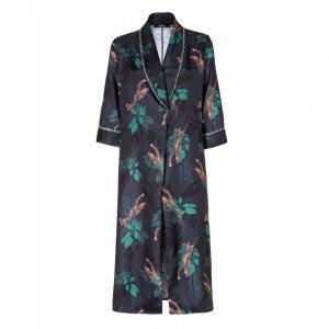 Kimono Midi Manga Ampla