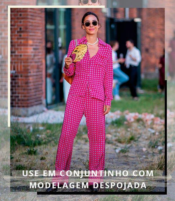 rosa - look - moda - street - style
