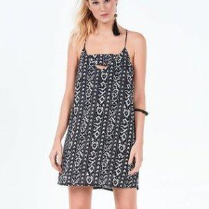 Voil Fabric Print Dress