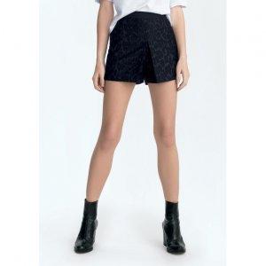 Shorts Alfaiataria Em Tecido Jacquard
